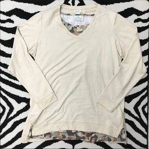 NWOT LOGO Lounge Tunic by Lori Goldstein